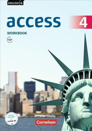English G Access - Allgemeine Ausgabe / Band 4: 8. Schuljahr - Workbook mit Audios online   Cover
