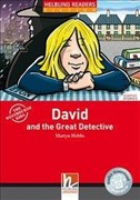 David and the Great Detective, Class Set: Helbling Readers Red Series/Level 1 (A1) (Helbling Readers Fiction)