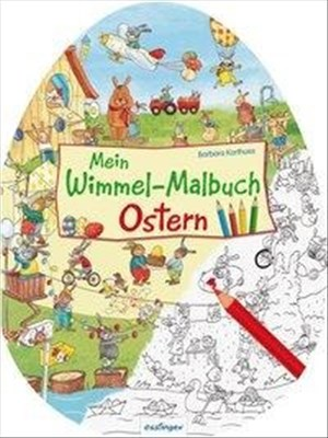 Mein Wimmel-Malbuch – Ostern   Cover