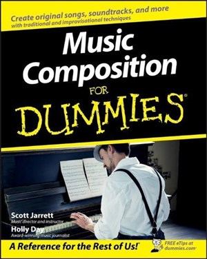 Music Composition For Dummies | Cover