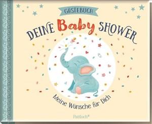 Gästebuch Baby Shower: Unsere Wünsche für dich | Cover