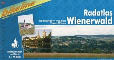 Wienerwald, Radatlas (Bikeline Radtourenbücher)