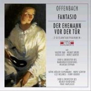 Fantasio/der Ehemann Vor der Tür | Cover