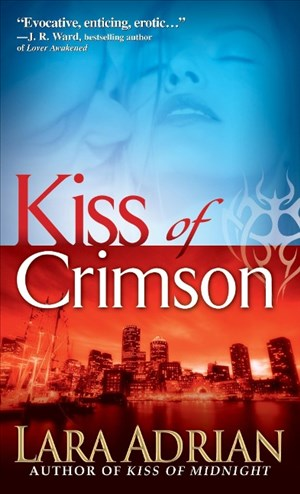 Kiss of Crimson (Midnight Breed, Band 2)   Cover