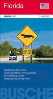 Florida: Road Map & Town Index. Local Maps Miami, Fort Lauderdale, St. Petersburg, Tampa. Distance and Driving Times. 1 : 800.000.