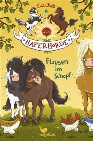 Die Haferhorde – Flausen im Schopf – Band 1 | Cover
