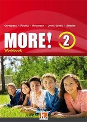 MORE! 2 Workbook mit E-Book: SbNr 181378 (Helbling Languages) | Cover