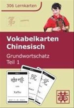 Vokabelkarten Chinesisch: Grundwortschatz, Teil 1 | Cover