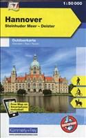Hannover, Steinhuder Meer, Deister: Nr. 57, Outdoorkarte Deutschland, Mit kostenlosem Download für Smartphone (Kümmerly+Frey Outdoorkarten Deutschland, Band 742)