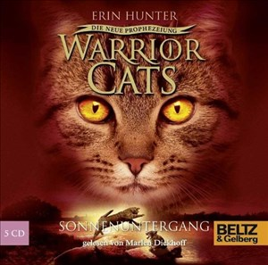 Warrior Cats - Die neue Prophezeiung. Sonnenuntergang: II, Folge 6, gelesen von Marlen Diekhoff, 5 CDs in der Multibox, 6 Std. 6 Min. | Cover