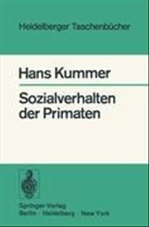 Sozialverhalten der Primaten (Heidelberger Taschenbücher, 162, Band 162) | Cover