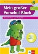 Klett Mein Vorschul-Block Konzentrations- und Denkspiele: ab 4 Jahren (Die kleinen Lerndrachen)