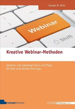 150 kreative Webinar-Methoden (Edition Training aktuell) | Cover