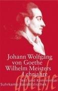 Wilhelm Meisters Lehrjahre (Suhrkamp BasisBibliothek, Band 85)