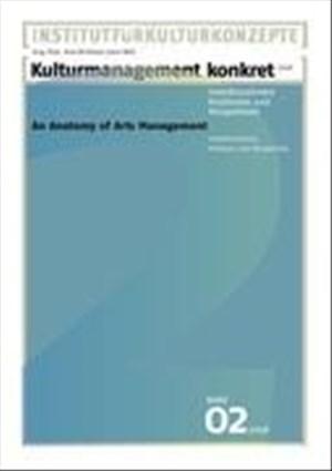 Kulturmanagement Konkret 2008 | Cover