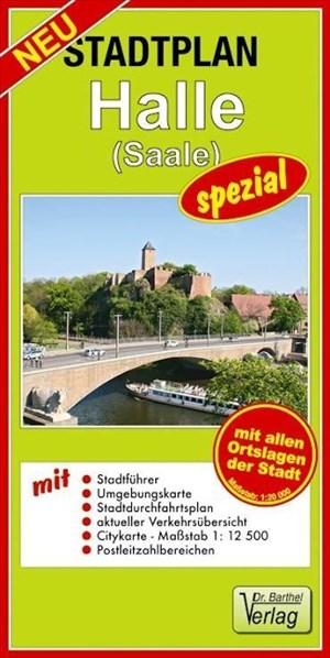 Doktor Barthel Stadtpläne spezial, Halle (Saale) | Cover