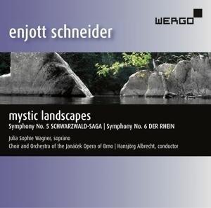 Enjott Schneider: Mystic Landscapes - Schwarzwald-Saga / Der Rhein | Cover