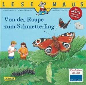 LESEMAUS, Band 116: Von der Raupe zum Schmetterling | Cover