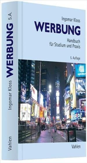 Werbung: Handbuch für Studium und Praxis | Cover