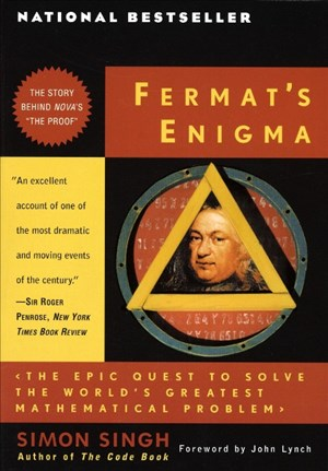 Fermat's Enigma: The Epic Quest to Solve the World's Greatest Mathematical Problem | Cover