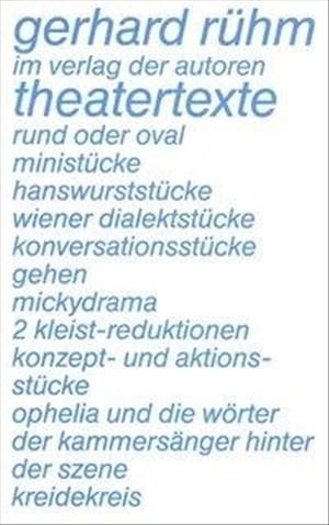 Theatertexte (Theaterbibliothek)   Cover