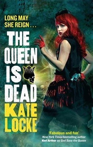 The Queen Is Dead: Book 2 of the Immortal Empire   Cover