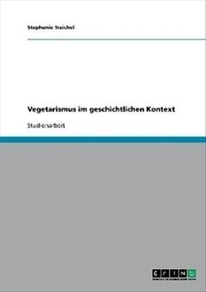 Vegetarismus im geschichtlichen Kontext | Cover