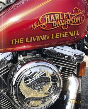 Harley Davidson: The Living Legend   Cover