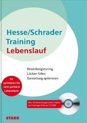 Hesse/Schrader: Training Lebenslauf   Cover