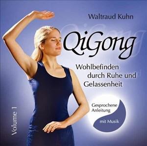 Qi Gong: Wohlbefinden durch Ruhe und Gelassenheit. Übungs-CD mit gesprochenen Anleitungen und Musik | Cover