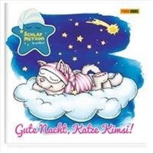 Die Schlafmützen: Gute Nacht, Katze Kimsi!: Pappbilderbuch mit Klappe   Cover