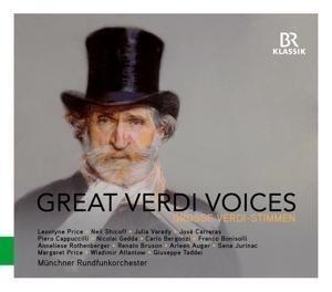 Verdi: Great Verdi Voices   Cover