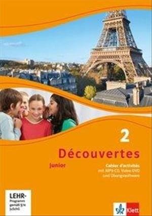 Découvertes junior, Teil: Kl. 6 = 2. [A1] - Cahier d'activités, (inkl.  MP3-CD, VideoDVD - und Übungssoftware) (Découvertes. Junior (ab Klasse 5)) | Cover