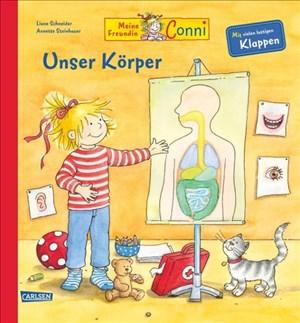 Conni-Bilderbücher: Meine Freundin Conni - Unser Körper: Pappen-Sachbuch | Cover