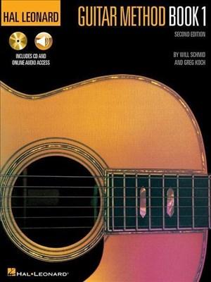 Hal Leonard Guitar Method Book 1 Second Edition (Book & Audio Download): Lehrmaterial, Download (Audio) für Gitarre (Hal Leonard Guitar Method Books) | Cover