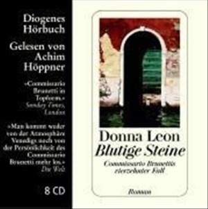 Blutige Steine: Commissario Brunettis vierzehnter Fall (Diogenes Hörbuch)   Cover