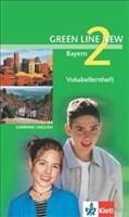 Green Line NEW Bayern: Vokabellernheft Band 2: 6. Klasse (Green Line NEW. Ausgabe für Bayern)