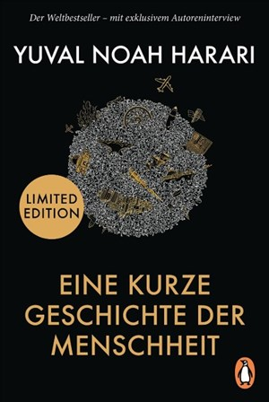 Eine kurze Geschichte der Menschheit: Der Weltbestseller – mit exklusivem Autoreninterview | Cover