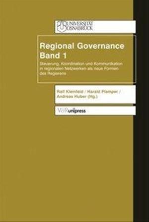 Regional Governance: Regional Governance 2: Bd 2 | Cover