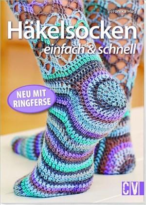 Häkelsocken einfach & schnell: Neu mit Ringferse   Cover