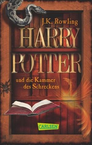 Harry Potter, Band 2: Harry Potter und die Kammer des Schreckens | Cover