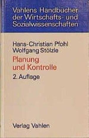 Planung und Kontrolle: Konzeption, Gestaltung, Implementierung | Cover