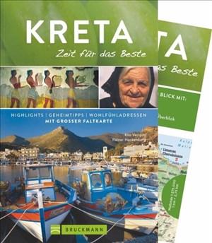 Bruckmann Reiseführer Kreta: Zeit für das Beste. Highlights, Geheimtipps, Wohlfühladressen. Inklusive Faltkarte zum Herausnehmen. | Cover