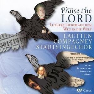Praise the Lord-Luthers Lieder auf dem Weg in die Welt | Cover