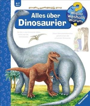 Alles über Dinosaurier (Wieso? Weshalb? Warum?, Band 12) | Cover