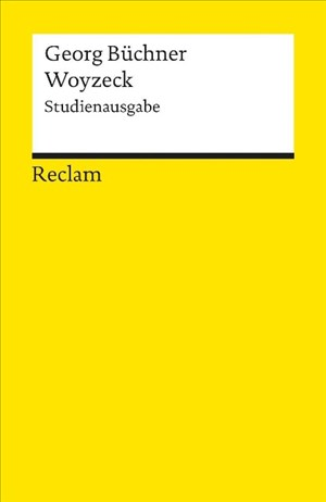 Woyzeck. Studienausgabe | Cover