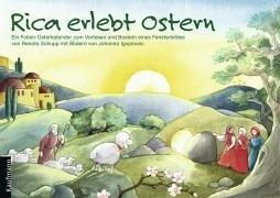 Rica erlebt Ostern: Ein Osterkalender zum Vorlesen mit Fensterbild-Folien