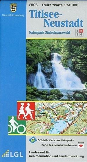 Titisee-Neustadt: Naturpark Südschwarzwald 2 (Freizeitkarten 1:50000) | Cover