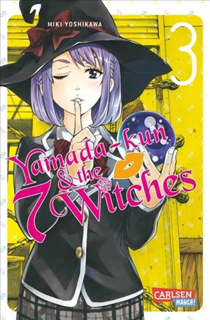 Yamada-kun and the seven Witches 3 (3) | Cover