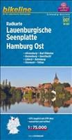 Bikeline Radkarte Lauenburgische Seenplatte. Hamburg Ost (SH07) Ahrensburg, Bad Oldesloe, Boizenburg, Geesthacht, Lübeck, Ratzeburg, Stormarn, Trittau, 1 : 75 000, mit UTM-Netz, wasserfest/reißfest
